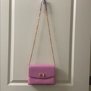 Beautiful Ted Baker Pink and Rose Gold Crossbody